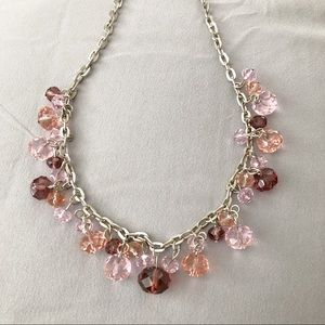 Avenue Cascading Crystal Beaded Bauble Necklace
